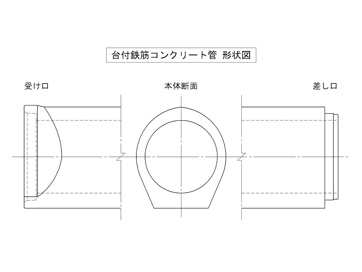 製品形状図